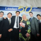 HFT® CEO Georgia Gascoyne with Leeden Executives