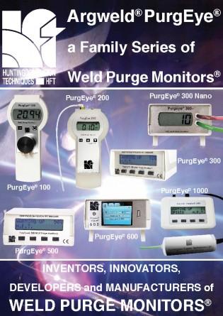 Weld purge monitors versus oxygen weld monitors