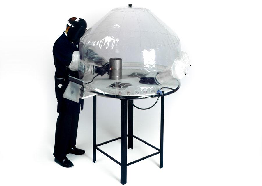 Welding titanium - Flexible Welding Enclosure