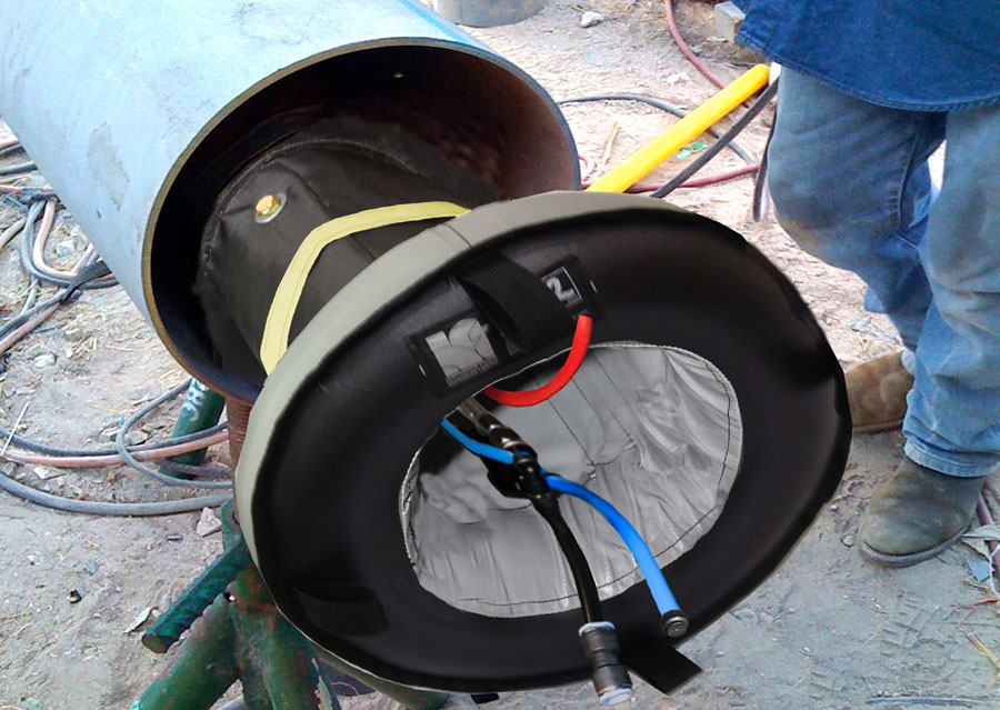 QuickPurge Inflatable Pipe and Pipeline Weld Purging System