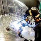 welding enclosure - aerospace industry