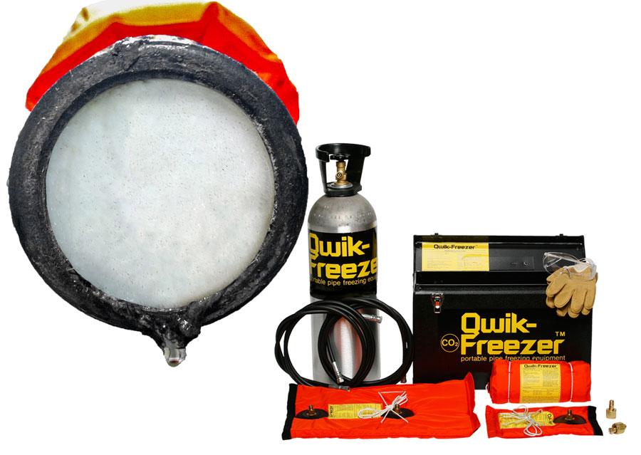 Qwik-Freezer™ Pipe Freezing System